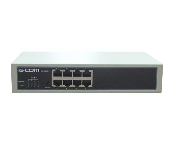 Коммутатор управляемый L2 GCOM S2008B+