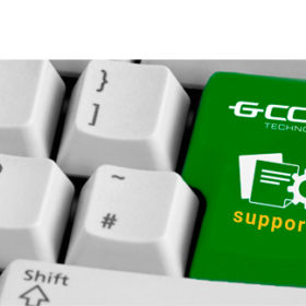 Support GCOM. Unique solution in the telecommunication equipment market